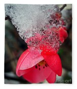 Ice Flower Fleece Blanket