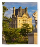 Jardin Des Tuileries Fleece Blanket
