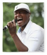 Javier Colon Fleece Blanket