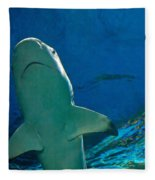 Jaws Fleece Blanket
