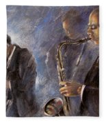 Jazz 01 Fleece Blanket