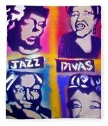 Jazz Divas  Fleece Blanket