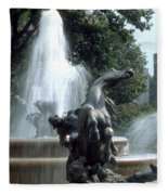 J.c.nichols Fountain 1 Kc.mo Fleece Blanket