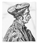 Jean Fernel (1497-1558) Fleece Blanket