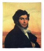 Jean-francois Champollion (1790-1832) Fleece Blanket