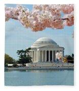 Jefferson Bloom Fleece Blanket