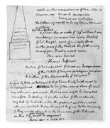 Jefferson: Tombstone Fleece Blanket