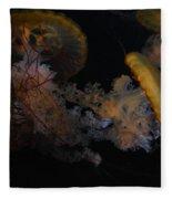 Jelley Fish Fleece Blanket