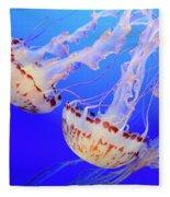 Jellyfish 9 Fleece Blanket