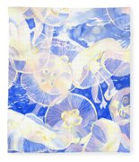 Jellyfish Jubilee Fleece Blanket