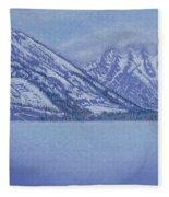 Jenny Lake - Grand Tetons Fleece Blanket