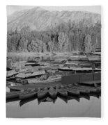 Jenny Lake Wyoming   Fleece Blanket