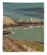 Jerbourg Point On Guernsey - 3 Fleece Blanket