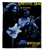 Jerry And Billy At Winterland Fleece Blanket