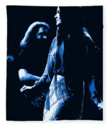 Jerry And Donna Blues 1978 Fleece Blanket