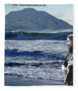 Jerry Garcia At Mt Tamalpaisland 2 Fleece Blanket