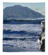 Jerry Garcia At Mt Tamalpaisland 3 Fleece Blanket