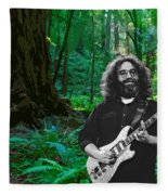 J G In Muir Woods Fleece Blanket