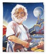 Jerry Garcia Live At The Mars Hotel Fleece Blanket