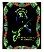 Jerry Shedding Light Fleece Blanket