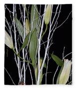 Jersey Lilies Fleece Blanket