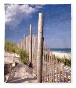 Jersey Shore  Fleece Blanket