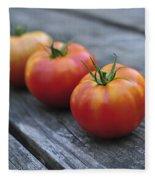 Jersey Tomatoes  Fleece Blanket