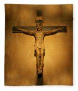 Jesus 2  Fleece Blanket