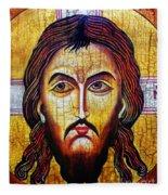 Jesus Christ Mandylion Fleece Blanket