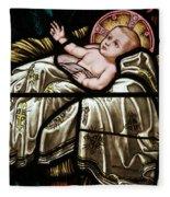 Jesus Is Born Fleece Blanket