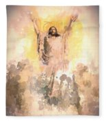 Jesus Loves You 2 Fleece Blanket