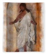 Jesus Photo Art Fleece Blanket