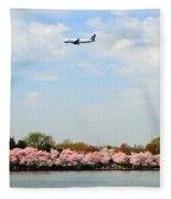Jet Blue Airlines Fleece Blanket
