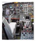 Jet Cockpit Fleece Blanket