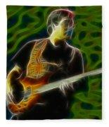 Jethro Tull-96-jonathon-c5-fractal Fleece Blanket