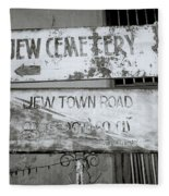 Jew Town In Cochin Fleece Blanket