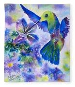 Jewel In Flight Fleece Blanket