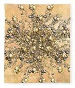 Jewels In The Sand Fleece Blanket