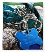 Jewel's Jewelry Fleece Blanket