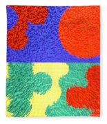 Jigsaw Pieces Fleece Blanket