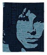 Jim Morrison The Doors Fleece Blanket