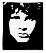 Jim Morrison  Fleece Blanket