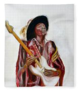 Jimi Fleece Blanket
