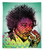 Jimmie Hendrix  Fleece Blanket
