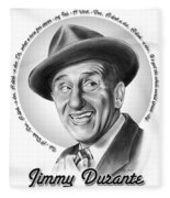 Jimmy Durante Fleece Blanket