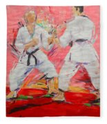 Jiyu Kumite Fleece Blanket