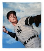 Joe Dimaggio Fleece Blanket