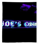 Joe's Corner Fleece Blanket