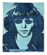 Joey Ramone Fleece Blanket