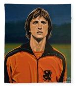 Johan Cruyff Oranje Fleece Blanket